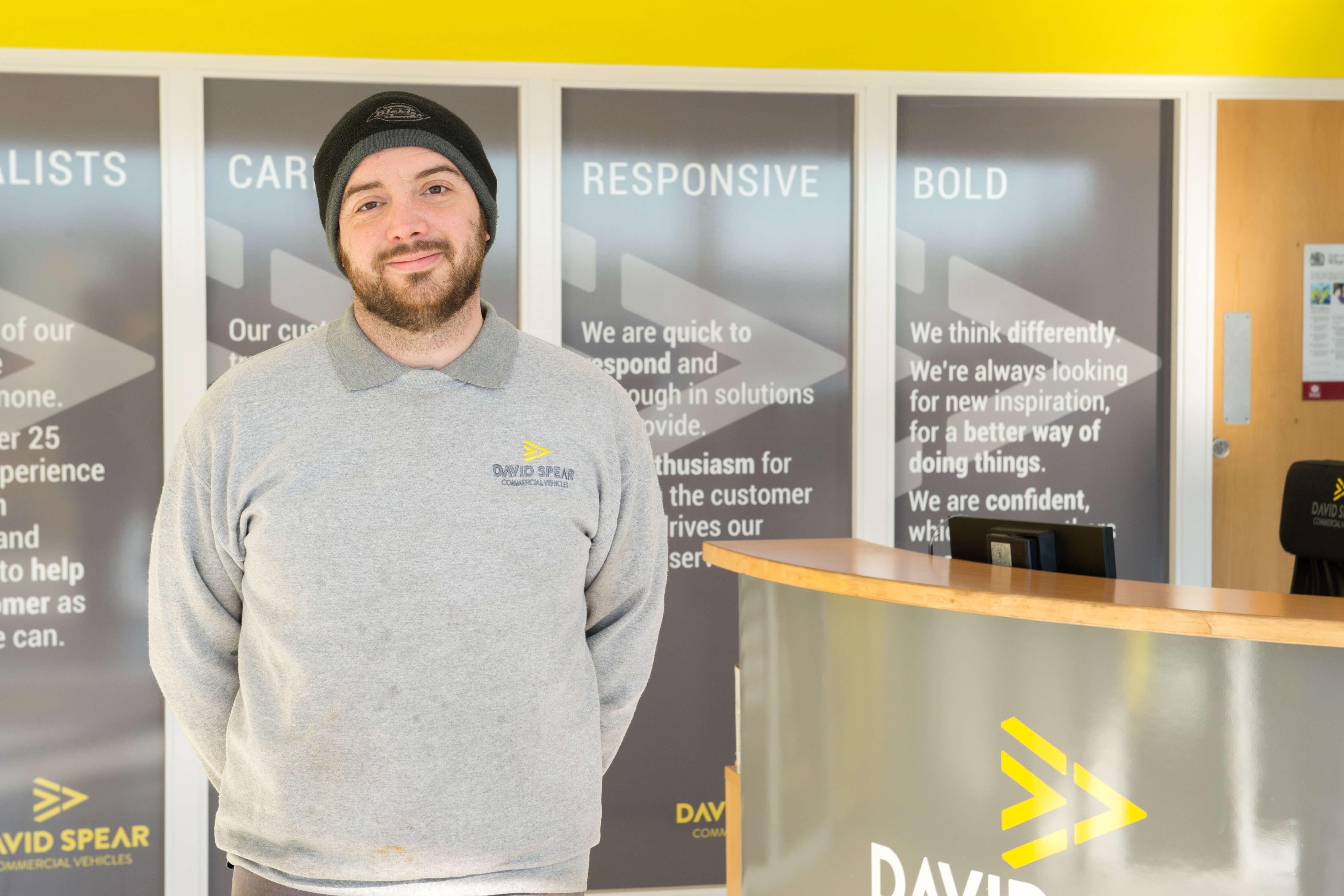 Andrew Jones, Van Dealership South Wales UK