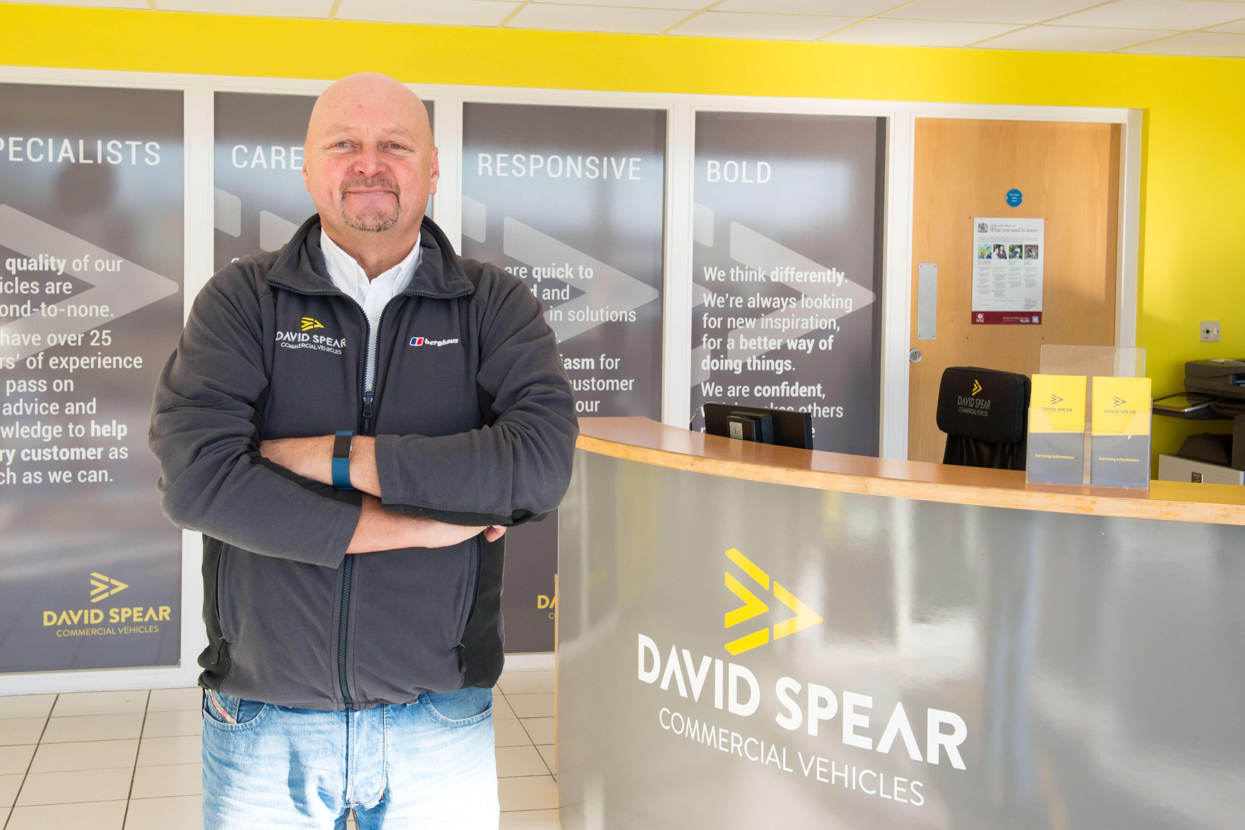 Christopher Morgan, Van Dealership South Wales UK