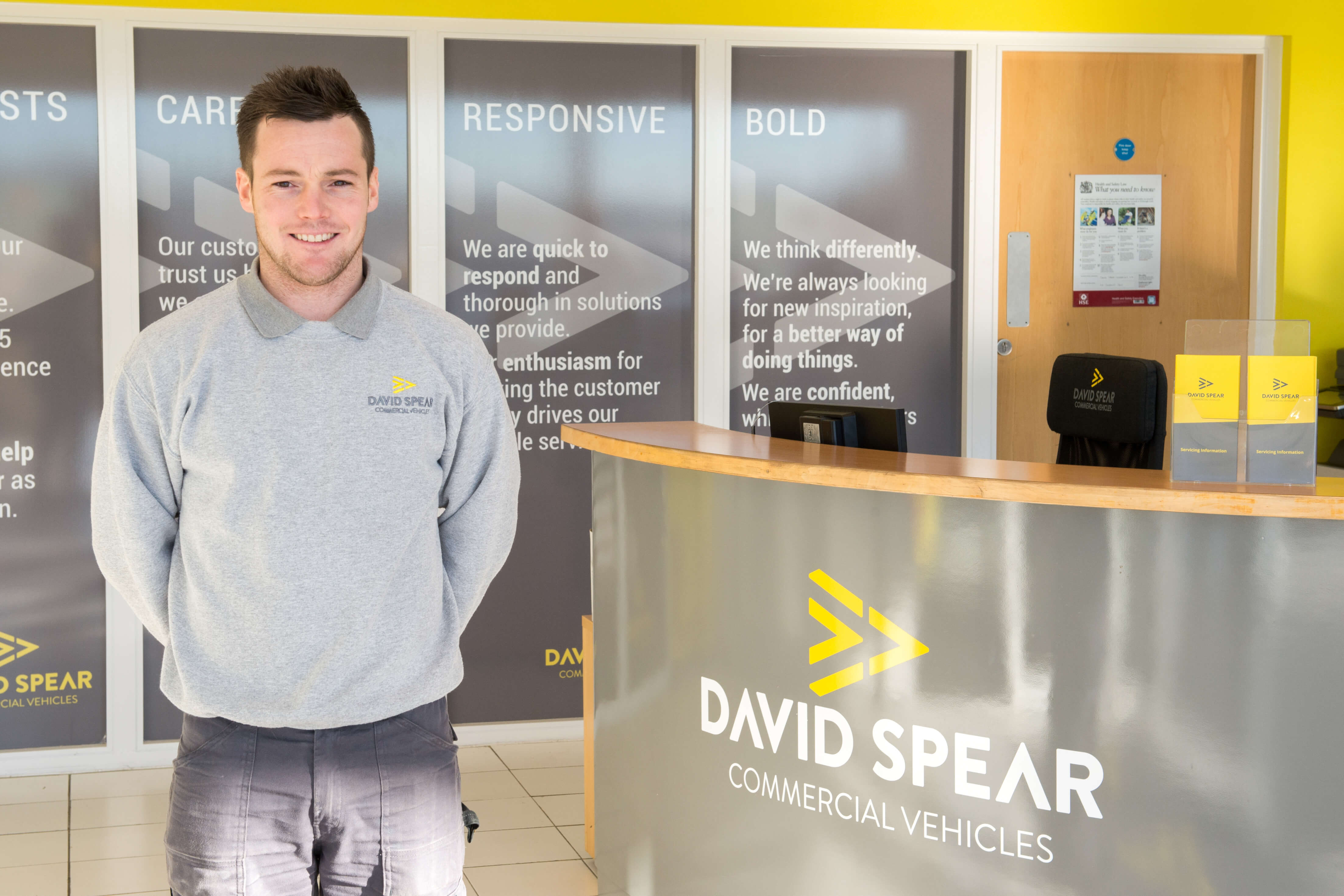 Ryan Canniff, Van Dealership South Wales UK