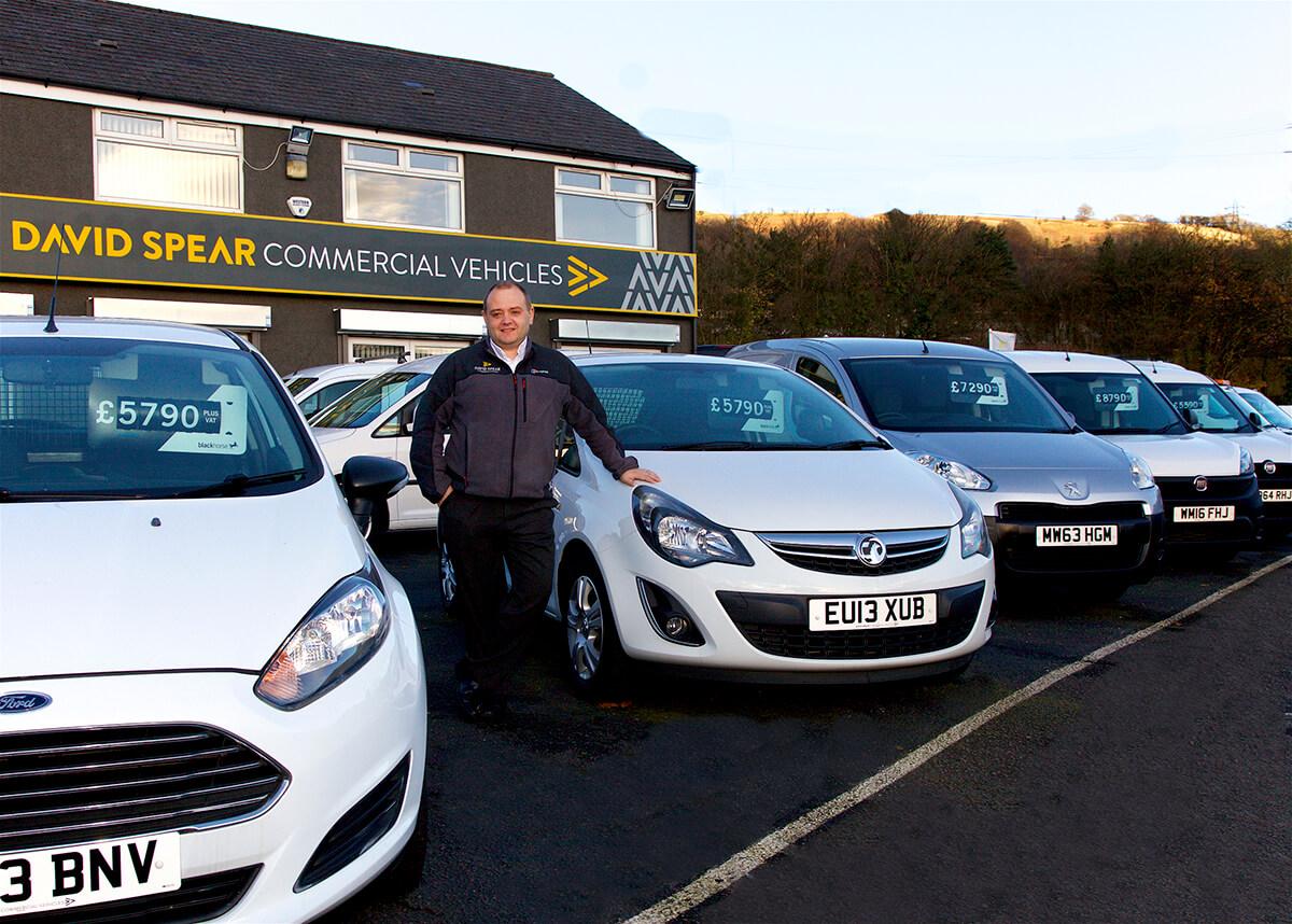 Mike Harris, Van Dealership South Wales UK