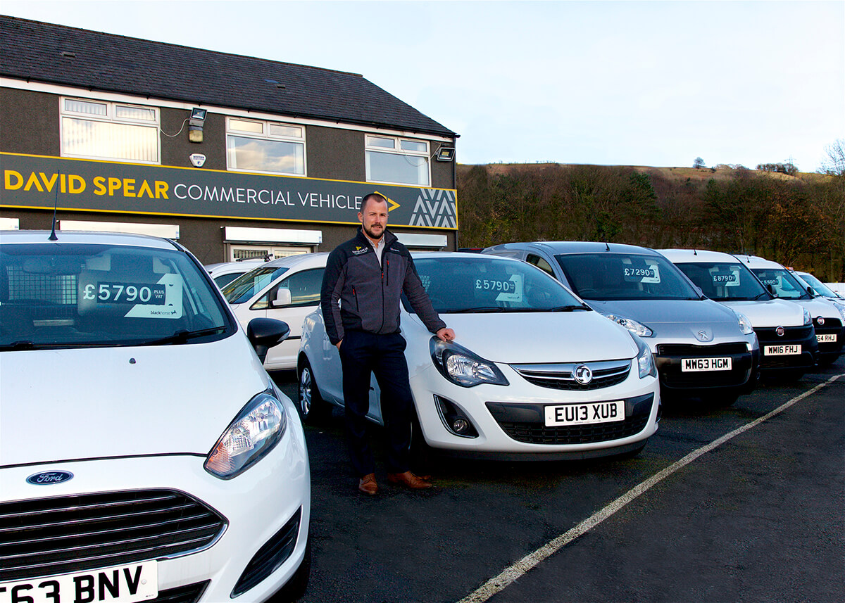 Paul Morgan, Van Dealership South Wales UK