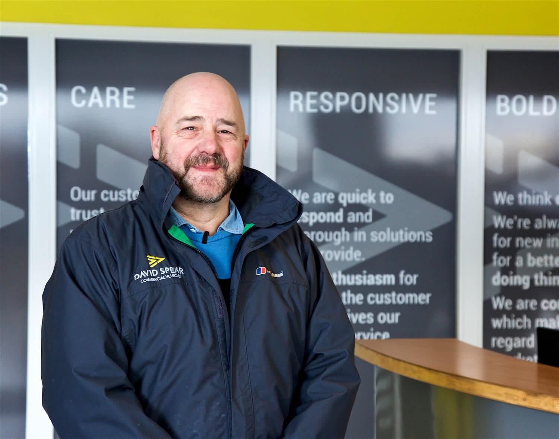 Mark Davies, Van Dealership South Wales UK